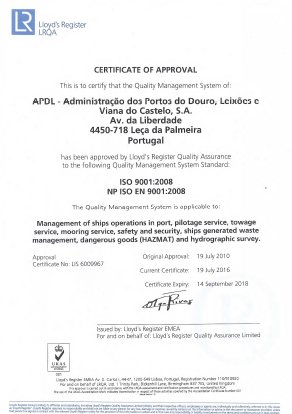 Quality and Certification - APDL